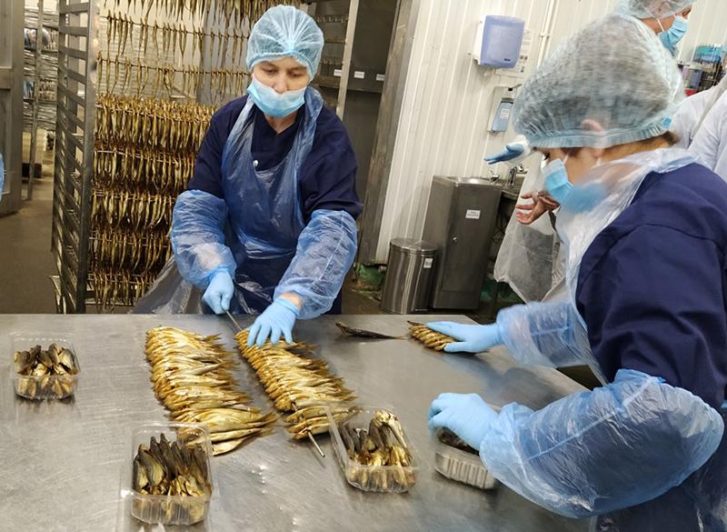 Крупнейший российский переработчик рыбы «Балтийский берег» обеспечивает 23% рынка рыбной продукции России