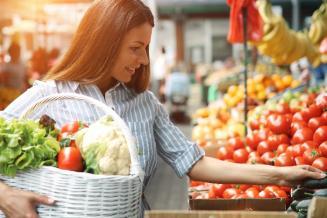 Обзор цен на овощи и фрукты в Новосибирской области