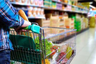 Вице-премьер: пиковый спрос на продукты в торговых сетях пройден