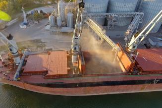 Минсельхоз: квота на экспорт зерна из России полностью выбрана