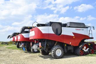 Производство сельхозтехники в РФ выросло на 30%