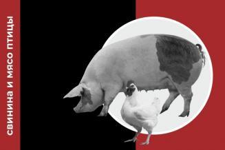 Еженедельный обзор рынка свинины и мяса птицы за 16 неделю
