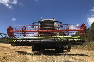 Российские аграрии за полгода приобрели почти 1,7 тыс. комбайнов через «Росагролизинг»