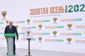 М. Мишустин: России удалось обеспечить продовольственную безопасность в разгар пандемии