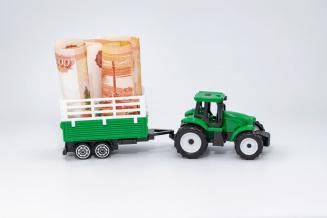 Регионы России перечислили аграриям 77,4% федеральных субсидий