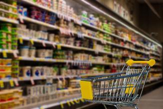 Обзор потребительских цен на продукты питания в Астраханской области