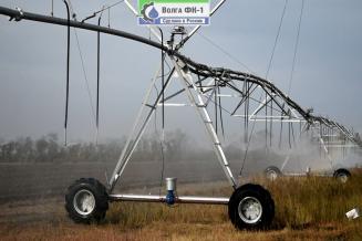 Саратовские ученые разработали новую дождевальную машину