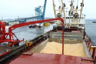 Экспорт зерна из РФ впервом квартале выросна 12%
