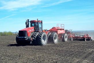 В Тульской области сев яровых сельхозкультур проведен на площади 210,7 тыс. га