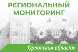 Еженедельный бюллетень о состоянии АПК Орловской области на 21 июня