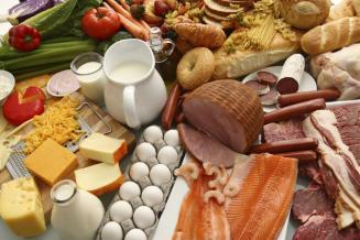 Россия в августе увеличила выпуск продуктов питания